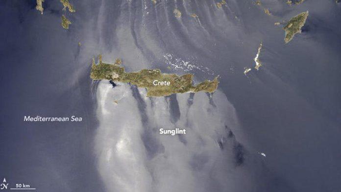 Κρήτη: Έχουμε την πιο όμορφη εικόνα του κόσμου! Η NASA και το φαινόμενο sunlight (Photo)