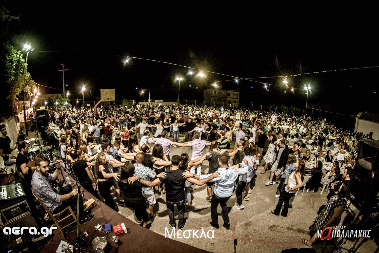 14.08.17 Ανδρέα Μανωλαράκη @ Μεσκλά (γιορτή Κρεατότουρτας)