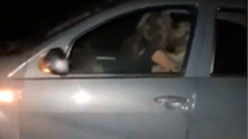 Ζευγάρι έκανε σεξ σε αυτοκίνητο που πήγαινε με 110 χλμ/ω (video)