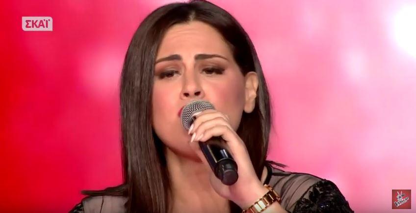 Η Κρητικιά Τζωρτζίνα Αλεξάκη τους μάγεψε και πέρασε στα live του The Voice (video)