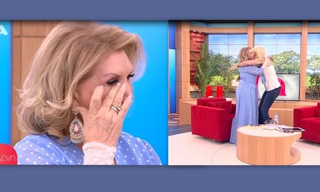 Ελένη Μενεγάκη - Λίτσα Πατέρα: Η τηλεοπτική συνάντηση μετά από 13 χρόνια και τα δάκρυα