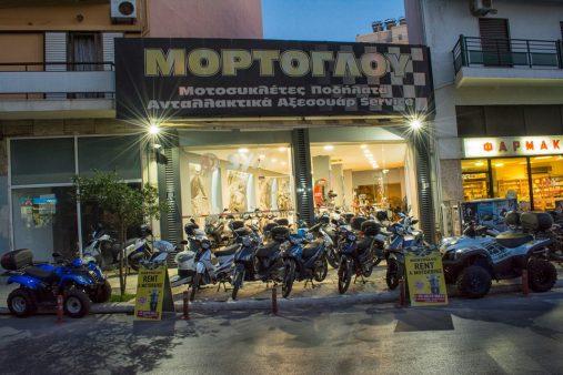 Μόρτογλου motorbike rentals - Ενοικίαση μοτοσικλέτας Χανιά - aera.gr