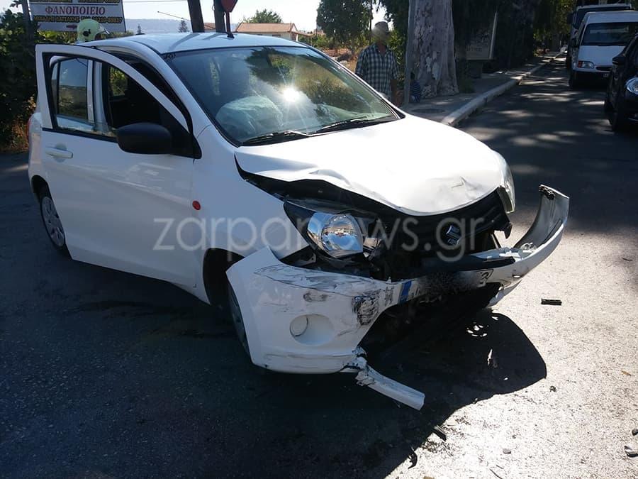 Χανιά : Τουμπάρισε αυτοκίνητο στη λεωφόρο Σούδας μετά από τροχαίο (Photos)