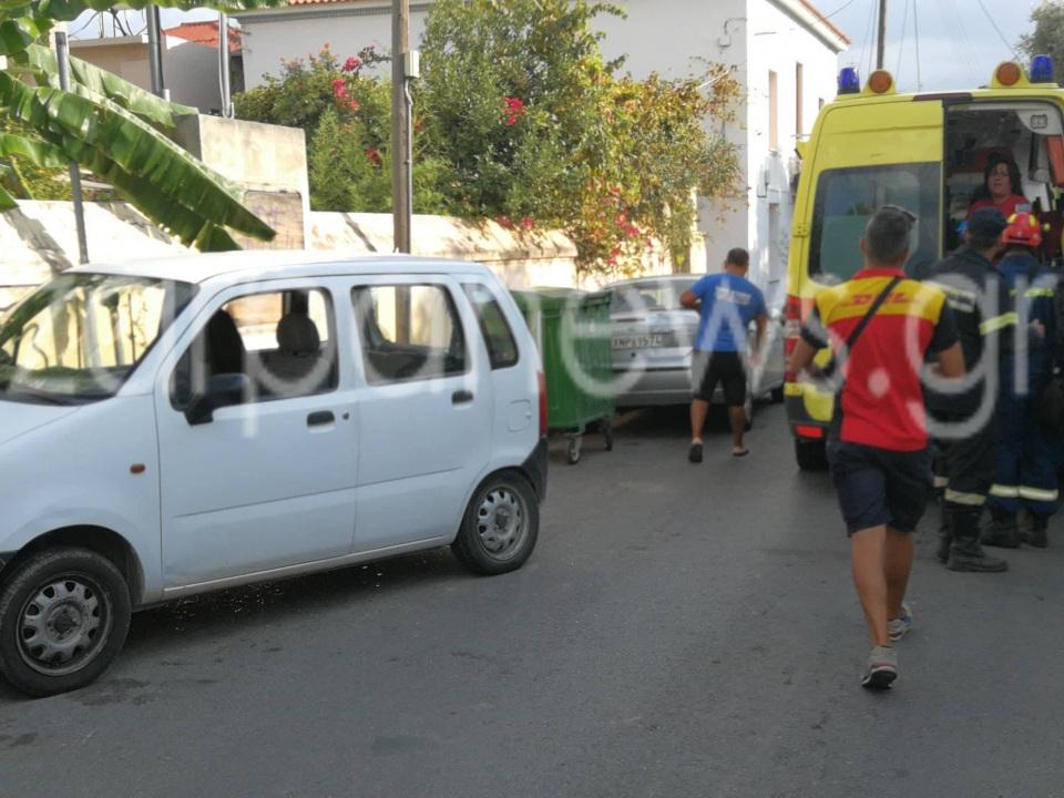 Χανιά: Τροχαίο ατύχημα με τραυματισμό μαθήτριας στον Άγιο Ιωάννη  (Photos)