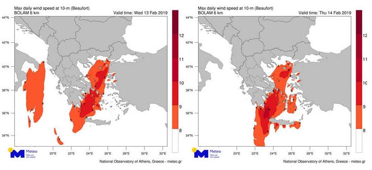 Έρχονται άνεμοι με βροχές – Πότε θα «χτυπήσουν» στην Κρήτη