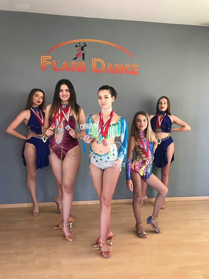 Χανιώτικη σχολή χορού απέσπασε πρωτιές και μετάλλια σε διεθνή διαγωνισμό χορού