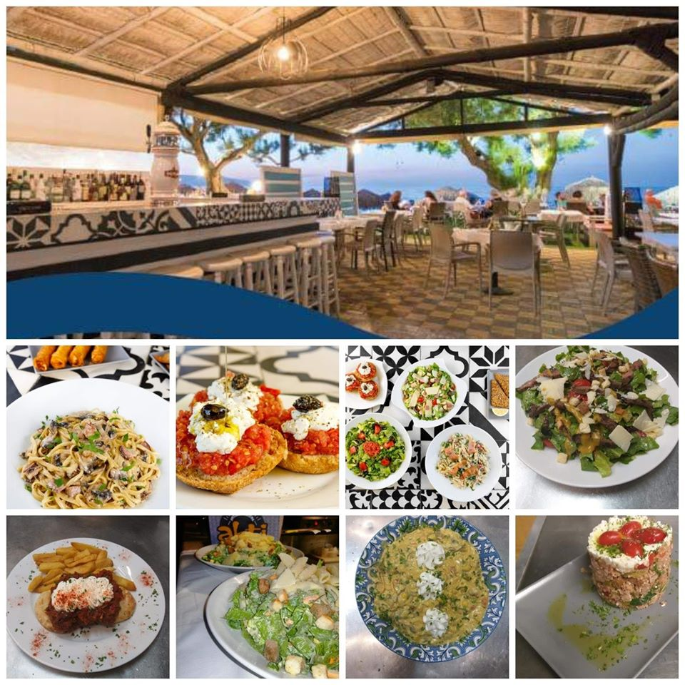 Akti beach restaurant - beach bar, Agia Marina, Chania, Crete