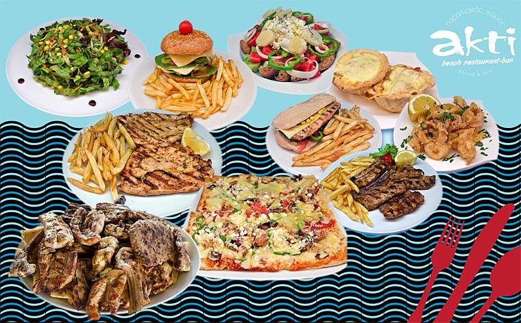 Akti beach restaurant