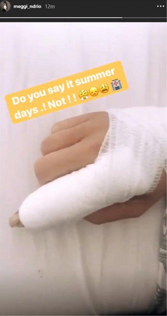 Το ατύχημα της Μέγκι Ντρίο που την έστειλε στο νοσοκομείο