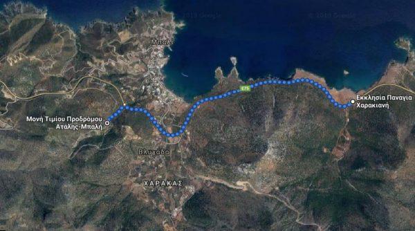 Περπάτησαν 5 χιλιόμετρα για τη χάρη της Παναγίας της Χαρακιανής