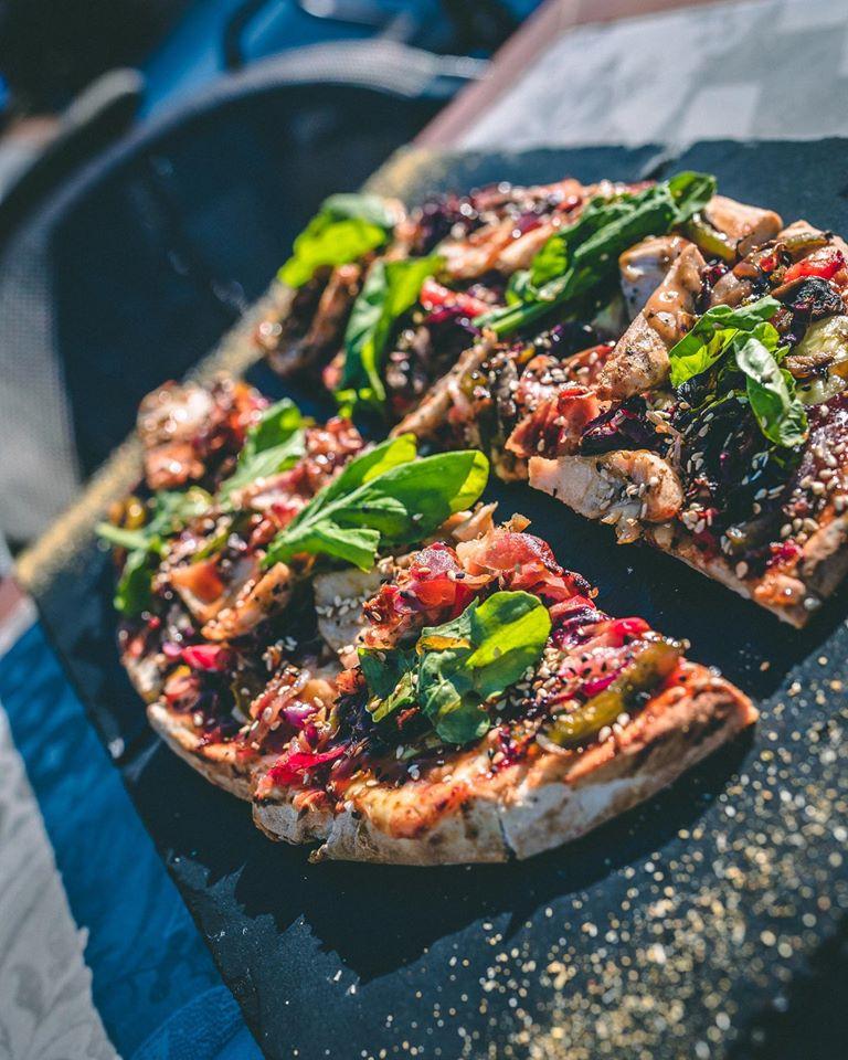 asian fusion pizza