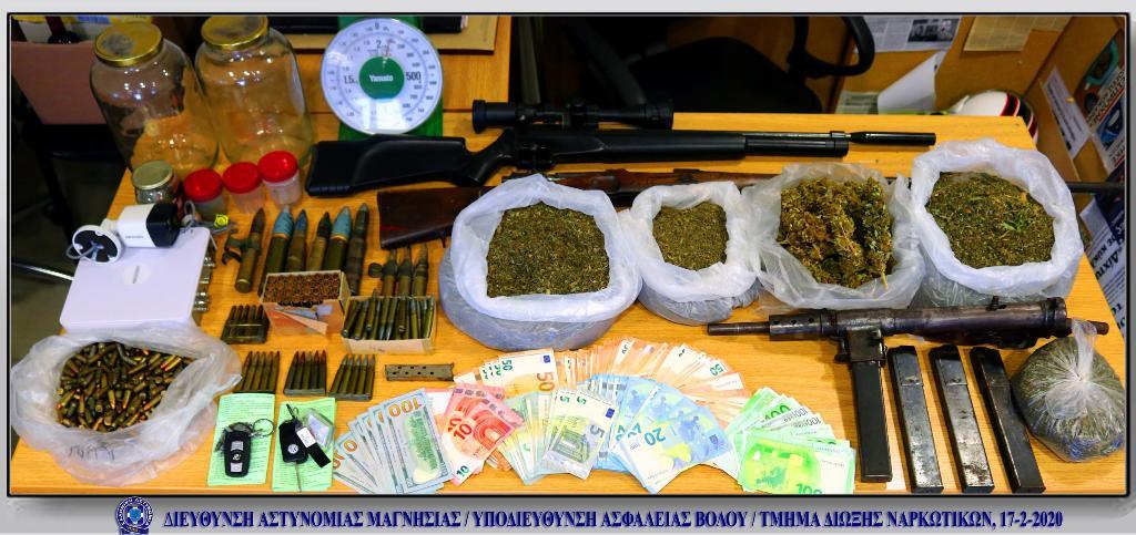 Πρώην παίκτρια reality συνελήφθη στον Βόλο με ναρκωτικά και όπλα (φωτο)
