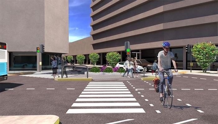 """Οι αλλαγές στο κέντρο των Χανίων, με τη δημιουργία """"πράσινης διαδρομής"""" και ποδηλατόδρομου"""