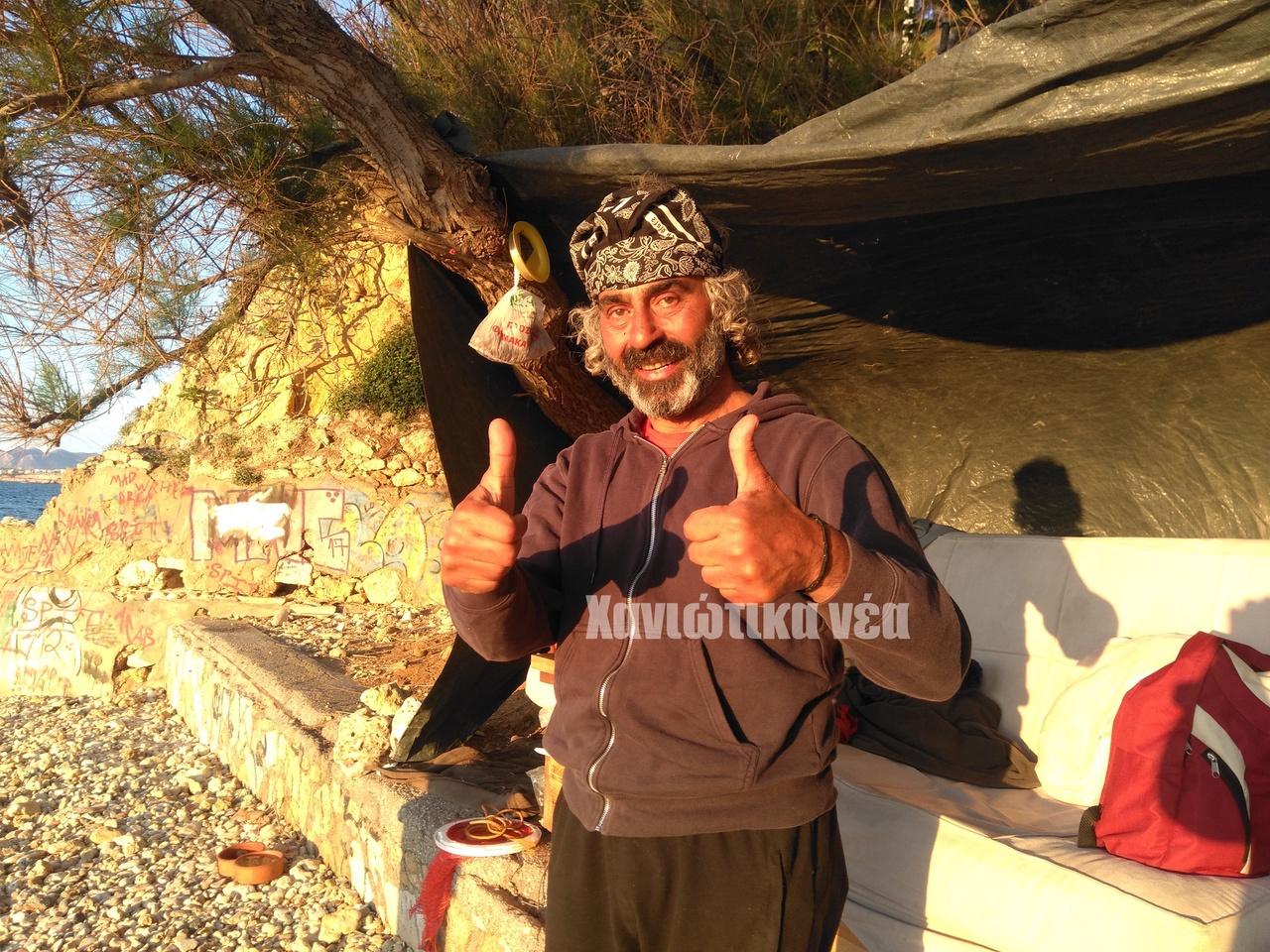 Από φημισμένος σεφ της Κωνσταντινούπολης, άστεγος στα Χανιά