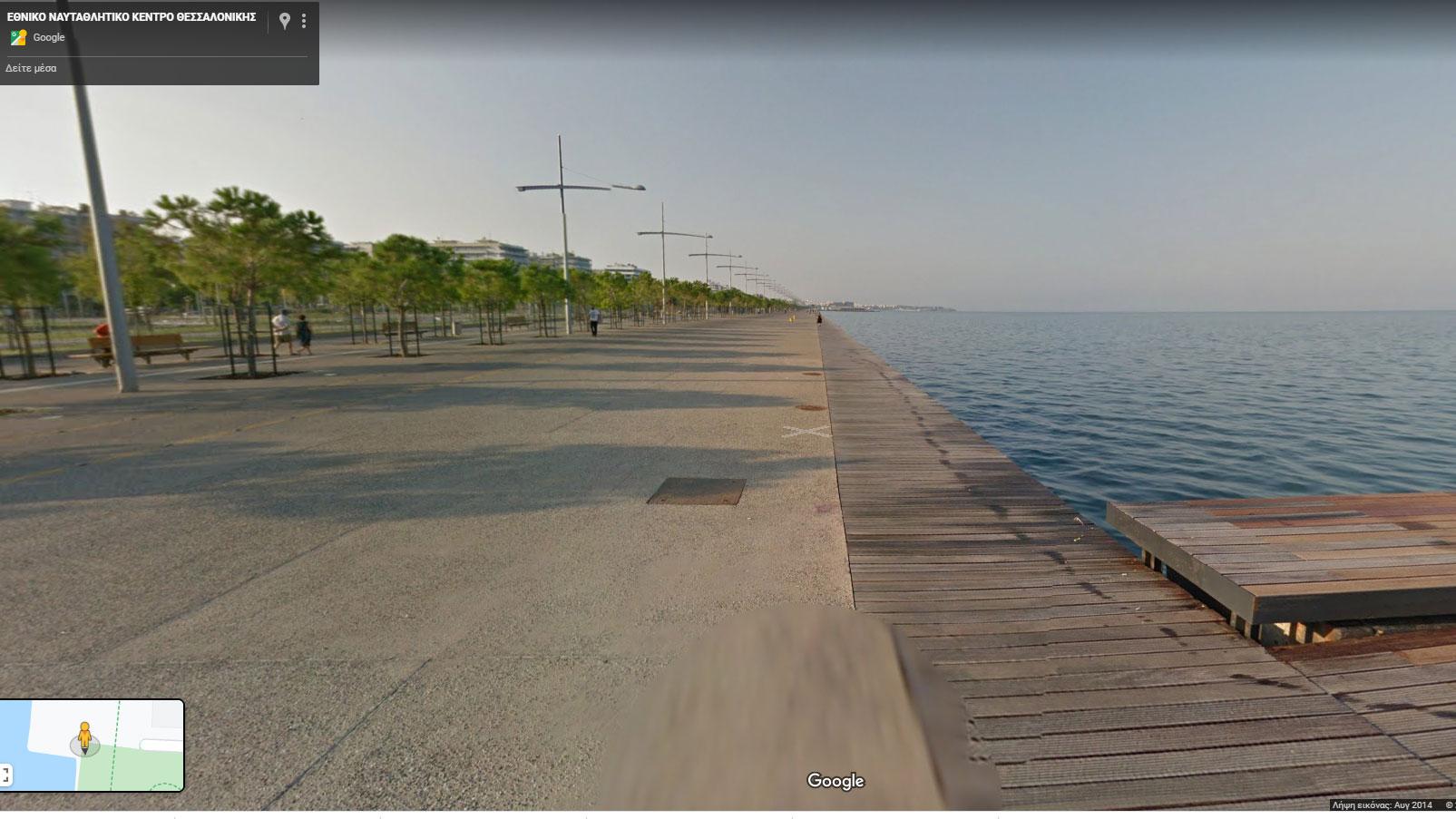 Γεμάτη η παραλία της Θεσσαλονίκης - Κοροϊδεύουν τον κόσμο με βίντεο μοντάζ; (video)