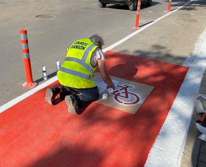 Χανιά: Νέος Ποδηλατόδρομος - Παραδόθηκε ανήμερα της Παγκόσμιας ημέρας Ποδηλάτου (φωτο)