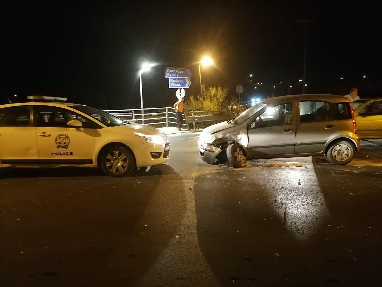 Χανιά: Σοβαρό τροχαίο στον κόμβο του Πλατανιά - Μία τραυματίας