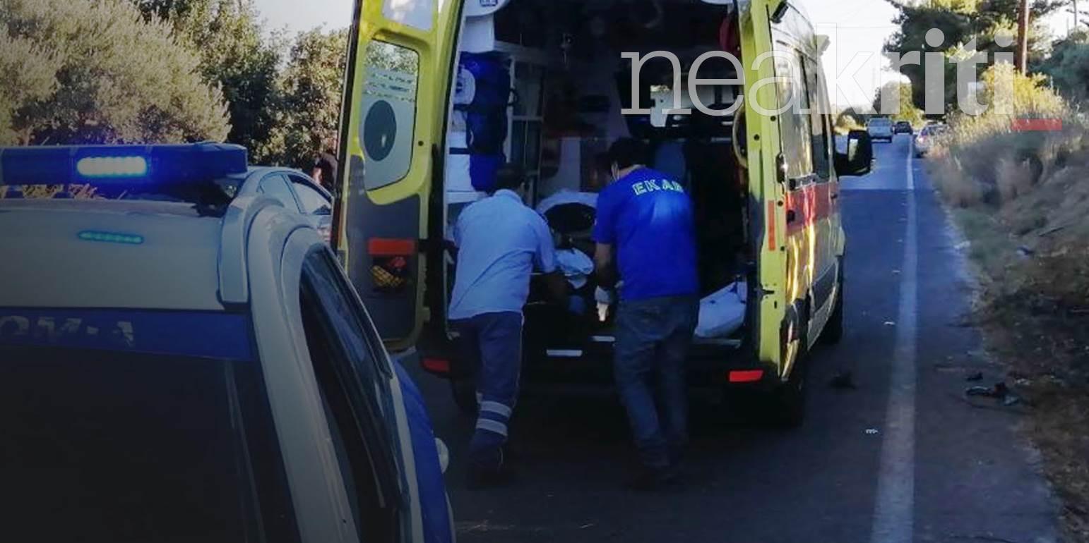 Συνεχίζεται η αιματοχυσία στους δρόμους της Κρήτης - Νεκρός νεαρός σε τροχαίο (φωτο)