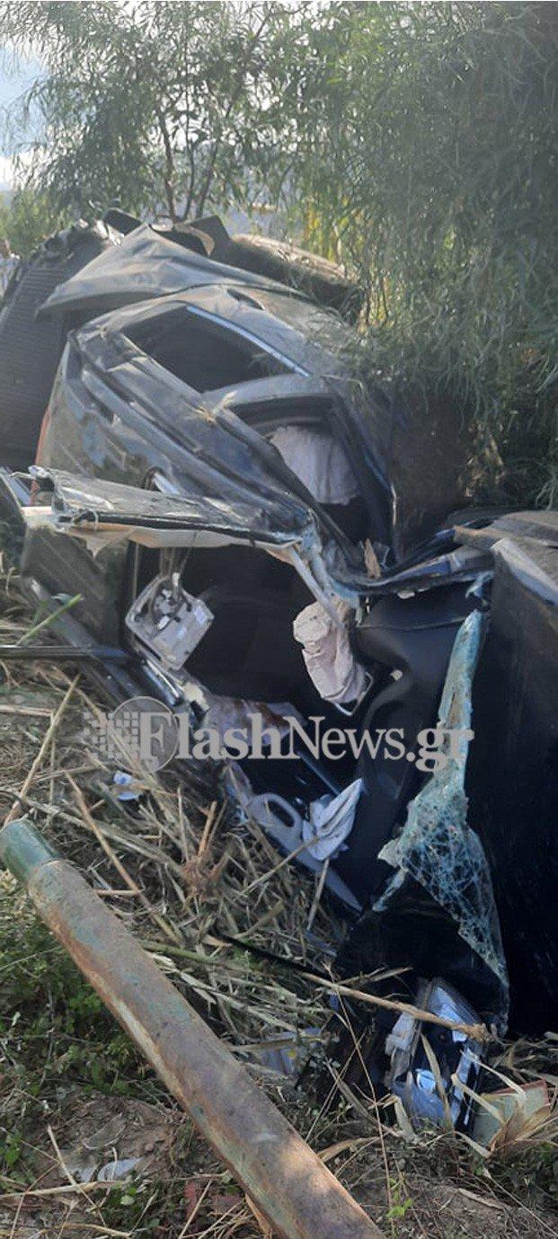 Χανιά: Σοβαρό τροχαίο ατύχημα στην εθνική οδό