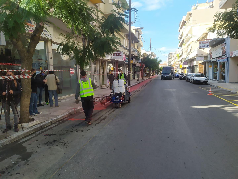 Χάνια: Ποδηλατοδρόμος για γέλια και για κλάματα στο κέντρο της πόλης (φωτο)