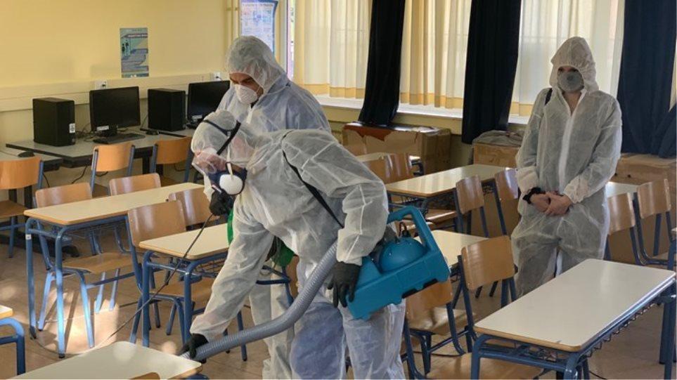 Κρούσμα σε μητέρα μαθητή δημοτικού σχολείου στα Χανιά