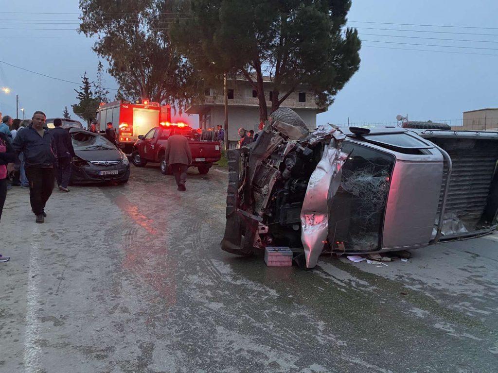 Νέα τραγωδία στους δρόμους της Κρήτης - Νεκρές μία μητέρα και η δύο ετών κορούλα της