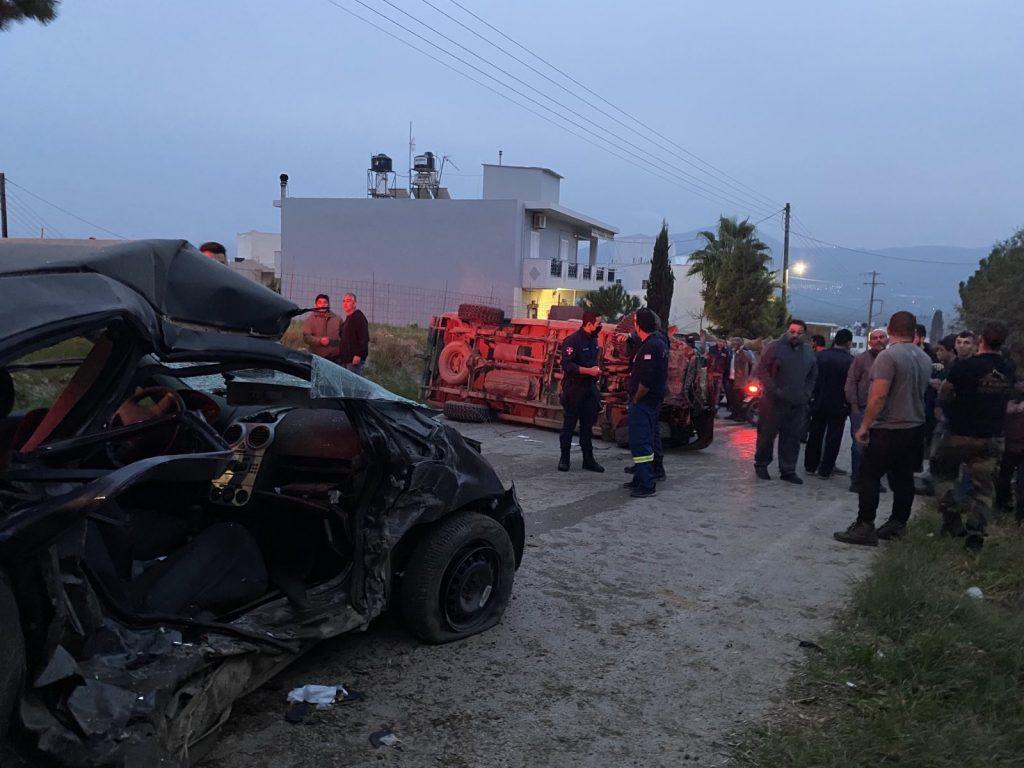 Κρήτη: Θρήνος για τον χαμό της Όλγας και της μικρής της κόρης στο τραγικό δυστύχημα