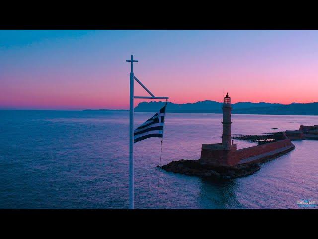 Μια μαγική ανατολή στα Χανιά - Με μοναδικά εναέρια πλάνα (video)