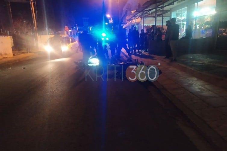 Χανιά: Σοβαρό τροχαίο με δυο τραυματίες στον Άγιο Λουκά