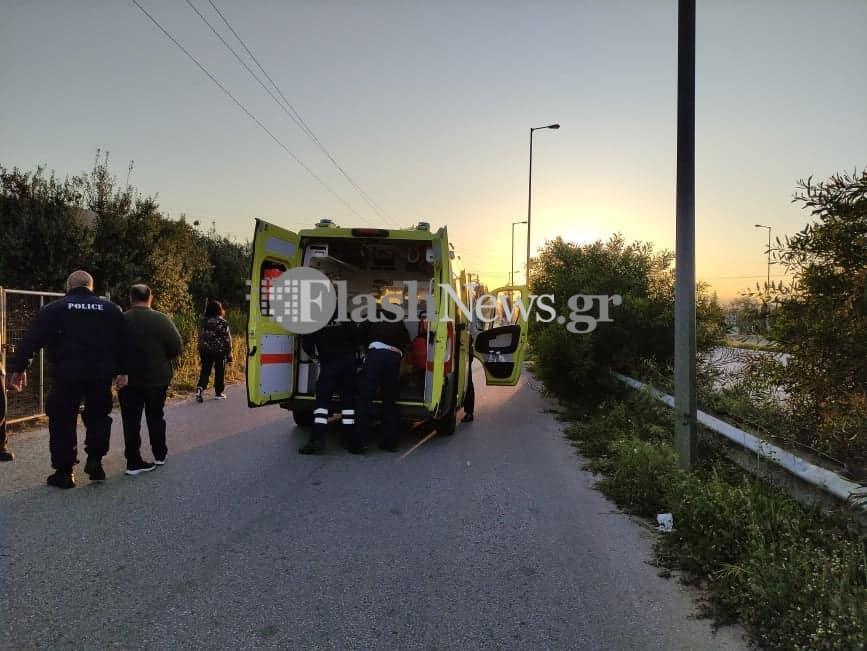 Χανιά: Αυτοκίνητο παρέσυρε και τραυμάτισε πεζή (φωτο)