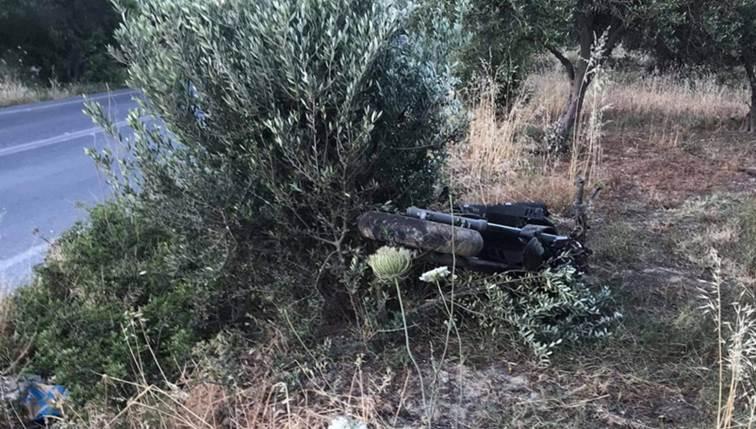 Θανατηφόρο τροχαίο στην Κρήτη - Νεκρός νεαρός μοτοσικλετιστής (φωτο)