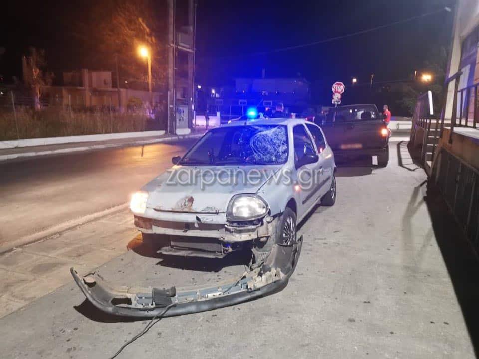 Χανιά: Νέο τροχαίο με σύγκρουση ανάμεσα σε δύο αυτοκίνητα και μηχανή (φωτο)
