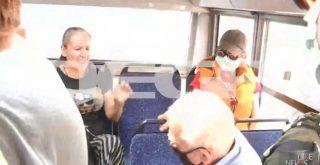 Ηλικιωμένος επιτέθηκε σε γυναίκα μέσα σε λεωφορείο επειδή δεν φορούσε μάσκα! (video)