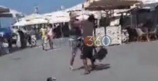 Χανιά: Συμπλοκή αλλοδαπών στο Ενετικό λιμάνι - Προσαγωγές από την ΕΛ.ΑΣ. (video)