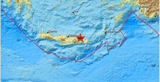 Σεισμική δόνηση, ταρακούνησε την Κρήτη