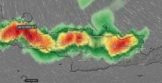 Κρήτη: Έντονες βροχές για ένα 24ωρο - Μεγάλη προσοχή στα ορεινά