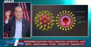 730.000 πρόστιμο σε 25 κανάλια που διαφήμιζαν κηραλοιφή που προστατεύουν από τον κορωνοϊό (video)