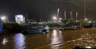 Βουλιάζουν τα Χανιά - Προβλήματα σε δρόμους από την έντονη βροχόπτωση (φωτο+βιντεο)