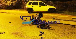 Νεκρή μια 23χρονη σε τροχαίο με μοτοσυκλέτα (φωτο)