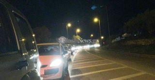 Χανιά: Μποτιλιάρισμα χιλιομέτρων στην εθνική οδό (φωτο)