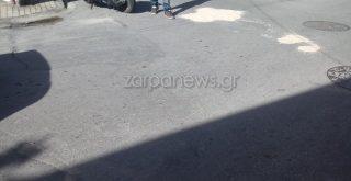 Χανιά: Στο νοσοκομείο μια κοπέλα από τη σύγκρουση Ι.Χ αυτοκινήτου με δίκυκλο (φωτο)