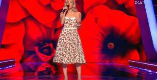 Μία Χανιώτισσα στη σκηνή του The Voice - Εντυπωσιάζει τους κριτές! (video)