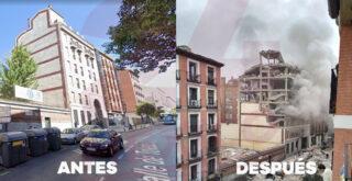 Ισχυρή έκρηξη στο κέντρο της Μαδρίτης - Εικόνες χάους στη Μαδρίτη -Δύο νεκροί (φωτο - video)